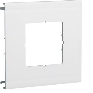 Blende 1-fach a=60mm PVC BR OT 120 cweiß