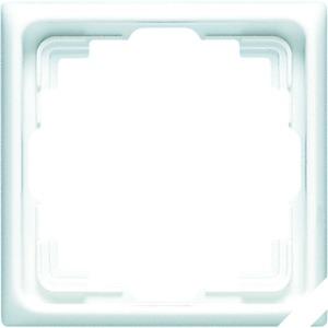 CD 581 K W, Rahmen, 1fach, für Kabel-Kanal-Inst., für waagerechte und senkrechte Kombination