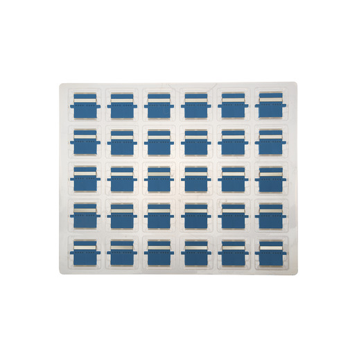 DIGITUS LWL-Kupplung LC-D//LC-D SM Keramik-Hülse blau