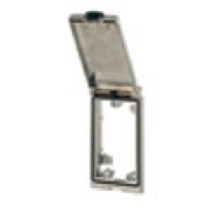 4000-68113-0000000, Modlink MSDD Einbaurahmen 1-fach Metall