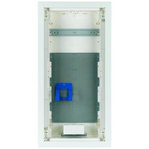 KLV-48UPM-F, Unterputz-Kleinverteiler, Multimedia, 4-reihig, Stahlblechtür flach