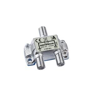EAC 01, Einfach-F-Abzweiger 8,5 dB, 5-1000 MHz