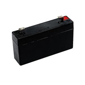 HP13/6, Notstrom-Akku für Außensirenen AS10F / 6000AS  6 Volt, 1,2 Ah, FASTON 187