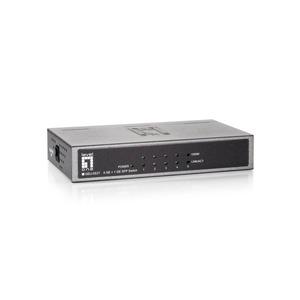 GEU-0521, 4 GE + 1 GE SFP Switch