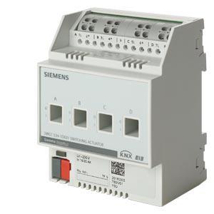 5WG1532-1DB31, Schaltaktor N532D31 4 x AC 230V, 10 AX (16A AC 1)