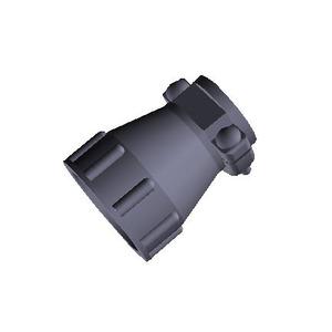 17 SIZE CPC STD CLAMP, Kabelklemme CPC, Standard, Gehäuse 17, max. Kabeldurchmesser 11,51 mm