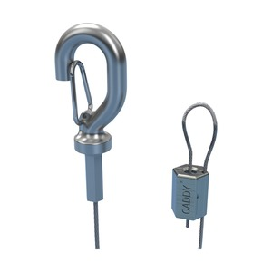 SLD15L2S, nVent CADDY Speed Link LD mit Haken, S304, 1,5 mm Stahlseil, 2 m (6,6') Länge