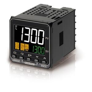 E5CC-TCX3A5M-000, Programmregler, 1/16 DIN (48 x 48), Regelausgang 1 stetig 0/4…20mA, 3 Zusatzausgänge Relais, Universal-Eingang, 100…240V AC