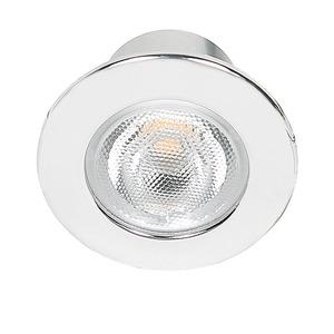 LED Mini Spot R chrom 3,3W warmweiß 38°, LED Mini Spot R chrom 3,3W warmweiß 38°