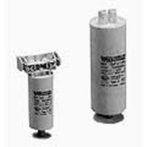 Parallelkondensator, Kunststoffgeh.,weißTyp A, Kapazität 3,5 µF, 250V, 50/60Hz