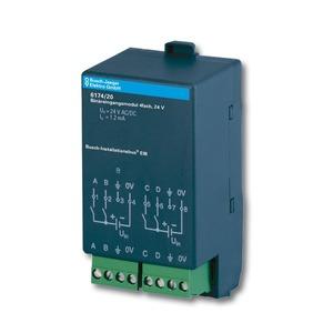 6174/20, Binäreingangsmodul, 24 V, Busch-Installationsbus KNX, Raum-Controller AP