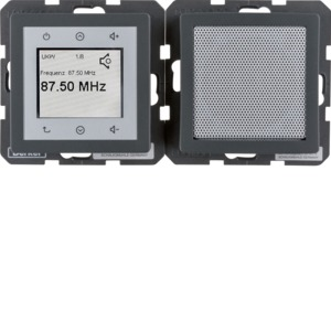 Radio Touch und Lautsprecher Q.1/Q.3 ant
