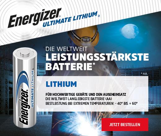 Energizer - Von Profis für Profis