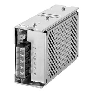 S8JX-G10024CD, Schaltnetzteil, Metallgehäuse, 100 W, 100 bis 240 VAC Eingang, 24 VDC 4,5 A Ausgang, geschlossene Bauform, DIN-Schienenmontage