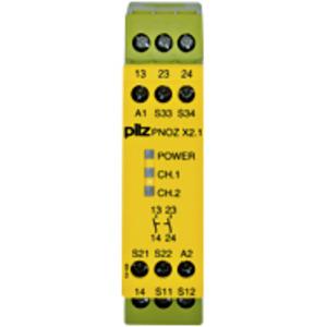 774306, PNOZ X2.1 24VAC/DC 2n/o