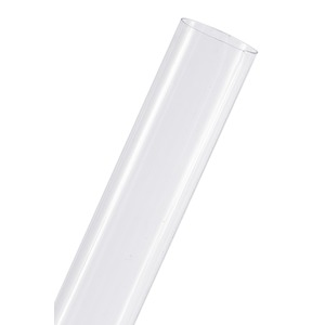 PC Cover 28X432 15W T8 Clear UV-Stop