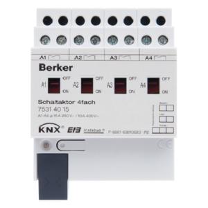 Schaltaktor 4f 16A Sß Hd Sta REG KNX
