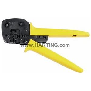 Handcrimpwerkzeug, für DIN 41612 Einzelkontakte, BC / FC / har-bus 64