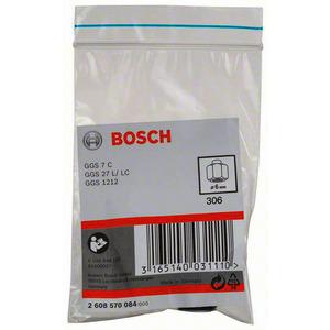 Spannzange mit Spannmutter, Spannzange mit Spannmutter, 6 mm, für Bosch-Geradschleifer