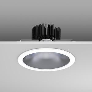 Einbaudownlight LED/35,6W-3000K D230, H184,50,8°, 3850 lm
