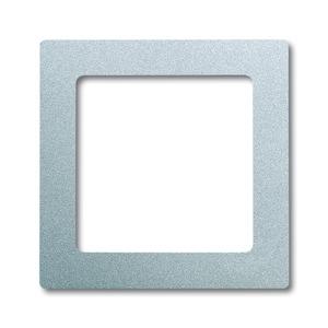 8251-83, Zentralscheibe, alusilber, future linear, Abdeckungen für Multimedia/Kommunikationsadapter