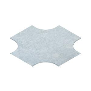 RKSD 200, Deckel für Kreuzung für KR, Breite 204 mm, Stahl, bandverzinkt DIN EN 10346