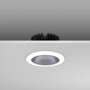 Einbaudownlight LED/17,7W-3000K D156, H153,38,4°, 2100 lm