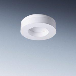 Polaron WD1 1TR22 E, An- und Einbauleuchte für T5 Lampe 1x22 W, EVG, IP50, Aluminium-Druckguss, weiß