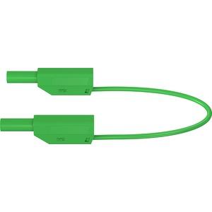 SLK425-E, 4mm Sicherheits-Messleitung 150cm grün-gelb