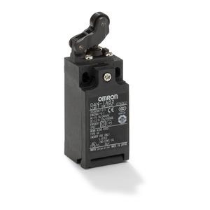 D4N-1A62, Miniatur-Sicherheitspositionsschalter, 1 Kabeleinführung Pg13,5, Einweg-Rollenhebel (horizontal), 1 Öffner + 1 Schließer (Schleichkontakte)