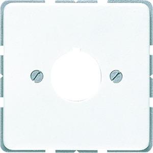 CD 564 WW, Abdeckg., Tragring, Schraubbef. für Befehlsgeräte mit 22,5 mm Durchm., alpinw.