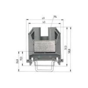 9700 A / 10 S35, Durchgangsklemme-9700 A / 10 S35