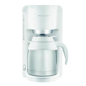 CT3811, Edelstahl Thermo Kaffeemaschine, Weiß / Edelstahl