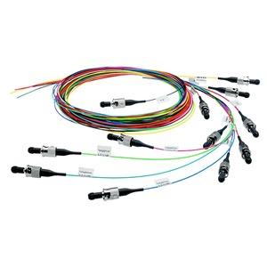 Faserpigtail-Set G50/125 OM4, 12 Farben