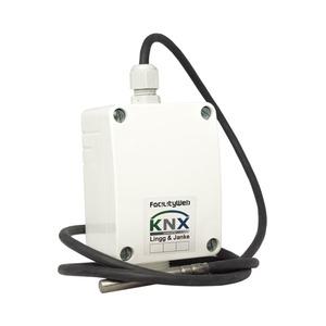 LTF02-1m-FW, KNX DIGITEMP Leitungstemperaturfühler, Leitungslänge 1m