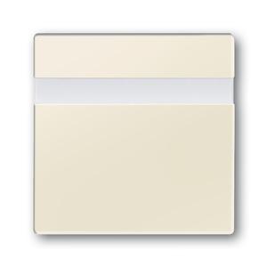 6815-82, Busch-Komfortschalter Bedienelement, elfenbeinweiß, carat, Bedienelemente für Bewegungsmelder/Komfortschalter