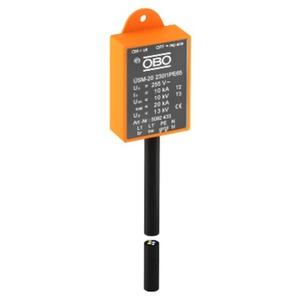 ÜSM-20-230I1PE65, Überspannungsschutzmodul für LED-Leuchten mit 1 Phase 230V