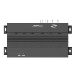 AMS IP Router, SAT>IP Server für bis zu 4 Clients, SAT-TV über LAN oder WLAN, Empfang mit jedem Client gemäß SAT>IP Standard (Mobile App, Set-Top-Box, TV), integrier