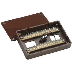 Aufputz-Lötverteiler 32-polig VdS C (braun)