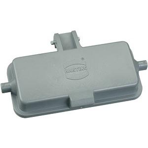 Abdeckkappe, für Lagerbock, 10 A, Längsbügel, Kunststoff, Schutzart: IP65
