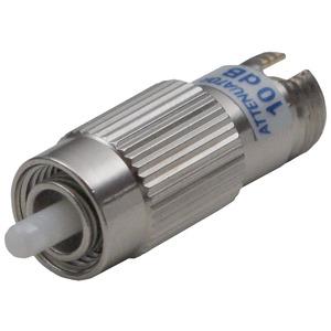 AOD 10, Optisches Dämpfungsglied 10 dB, zur Abdämpfung von Überpegeln in optischen SAT-ZF Verteilsystemen, FC/PC Buchse und Stecker