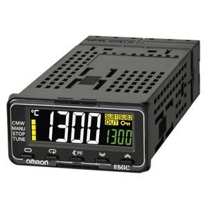 E5GC-RX1ACM-015, Universalregler, 1/32 DIN, Federzugklemmen, Regelausgang 1 Relais, 1 Zusatzausgang Relais, Universal-Eingang, 100…240V AC, Option 015