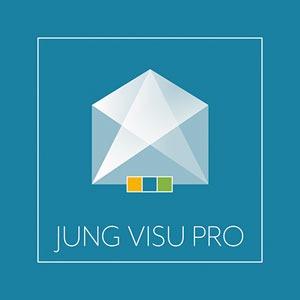 JUNG Visu Pro Software, Vollversion, zur Visualisierung der Gebäudeautomatisierung