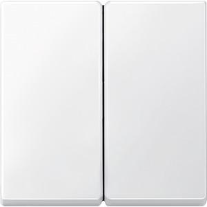 Wippe für Serienschalter, polarweiß, System M