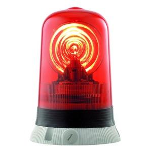 RAPBL24DA rot, Drehspiegelleuchte Rotallarm 24V ACDC grau