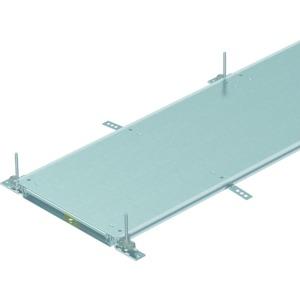 OKA-W3004030R, Kanaleinheit estrichbündig blind, rastend 2400x300x40, St, FS, Preis per Stück, L=2,4m