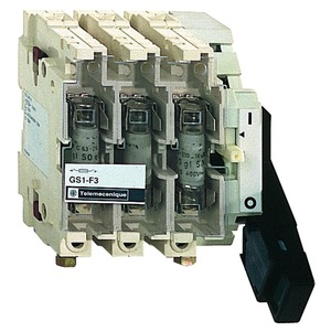 Gesicherter Trennschalter-Sockel GS1 4p 4 F, DIN, 400A