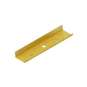 LST 16.016, Stoßstellenverbinder, für Höhe 16 mm, Breite 16 mm, Messing