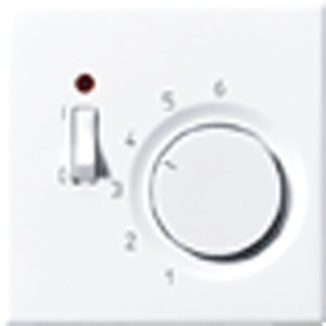 TR LS 231 WW, Raumtemperaturregler, 10 (4) A, AC 230 V ~, 50/60 Hz, Öffner 1-polig