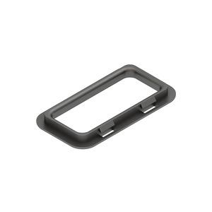 KSR 30 A, Kabelschutzring, mit UV-Schutz, 24x58 mm, Kunststoff, Polypropylen, Farbe schwarz